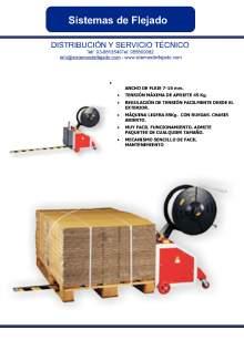 Máquina flejadora vertical XIFRE