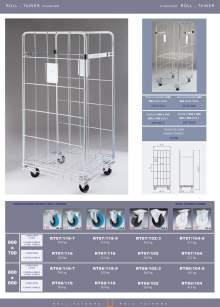 MARSANZ Standard rolltainers technical sheet