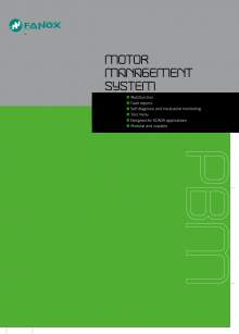Motor Management System PBM Catalogue FANOX
