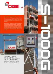 OGEI S-1000. Galvanized Building host
