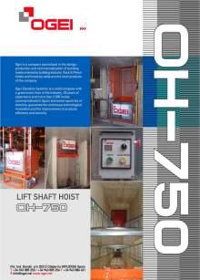 OGEI OH-750. Lift Shaft Hoist