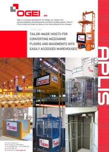 OGEI Tailor made building hoists