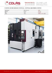 OKK VP-400. Vertical machining center