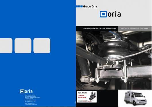 Catálogo ORIA Suspensión neumática auxiliar para vehículos 1