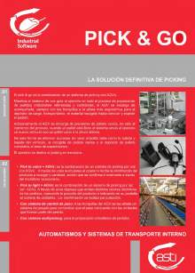 PICK & GO Sistema de picking con AGV