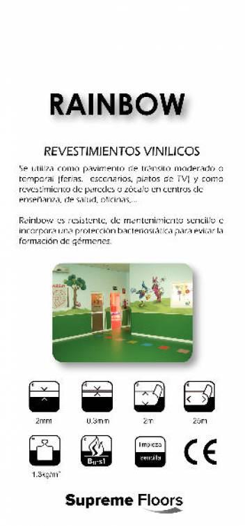 RAINBOW. Revestimientos vinílicos. 1