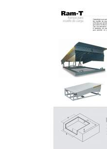 Ram-T. Lift table loading dock.