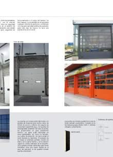 Secflex. Sectional fire proof door.