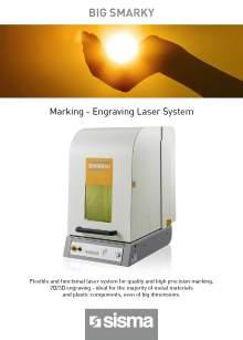 SISMA LASER. BIG SMARKY. Benchtop laser marking machine