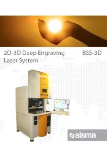 SISMA LASER. BSS-3D. Industrial laser marker