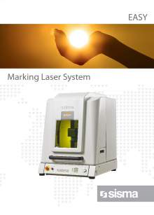 SISMA LASER. EASY. Benchtop laser marking machine