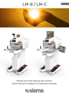 SISMA LASER. LM-B-LM-C. Desktop laser welding machine