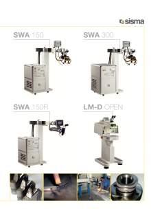 SISMA LASERT. swa-lm-d-open. Laser welding machine