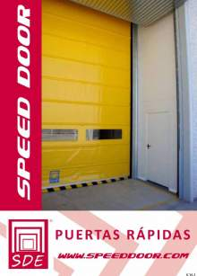 SPEED DOOR. High-speed door