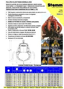 STEMM PH-2,5. Pulpo hidráulico.