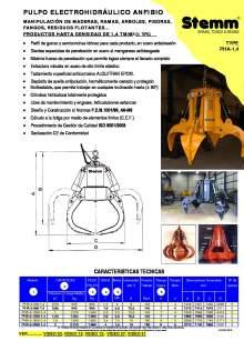 STEMM PHA-1,4. Pulpo hidráulico.