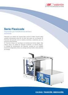 VALENTIN Flexicode. Módulo de impresión directa