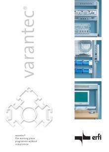 VARANTEC Catalog Laboratory workbenches