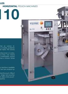 VOLPAK  SL-110. Form fill seal machine