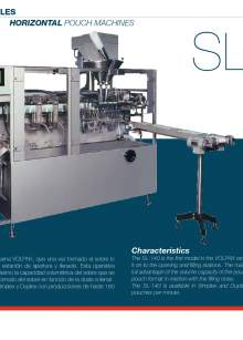 VOLPAK SL-140. Form fill seal machine