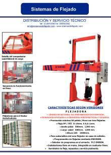 XIFRE SM-H / SM-HL. Máquina flejadora para prefabricados de hormigón