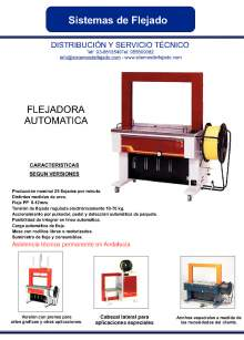 XIFRE TP 601 Flejadora automática