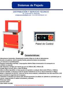 XIFRE TP 701 Flejadora de alimentación automática