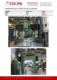 ZAYER KP-5000. Bridge type milling machine.